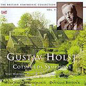 Holst: Cotswold Symphony, etc / Bostock, Munich Symphony