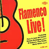 Various Artists: Flamenco Live! [Box]