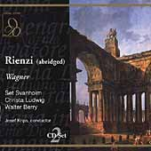 Wagner: Rienzi (Abridged) / Krips, Ludwig, Berry, et al