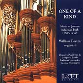 One of a Kind - Music of J.S. Bach / William Porter