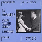 Bellini: La Sonnambula / Bernstein, Callas, Valletti