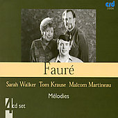 Fauré: Mélodies (Complete) / Walker, Krause, Martineau