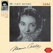Debut Series - Callas - My First Record