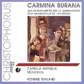 Carmina Burana - From Manuscripts of the 13th century