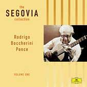 The Segovia Collection Vol 1 - Rodrigo, Boccherini, Ponce