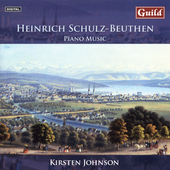 Schultz-Beuthen: Piano Music / Kirsten Johnson