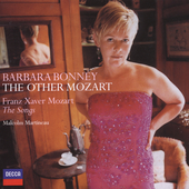 The Other Mozart - F. X. Mozart: Songs / Bonney, Martineau