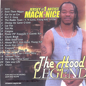 Jersey#1 Artist Mack-Nice: The Hood Legend