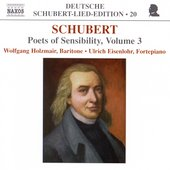 Deutsche Schubert-Lied-Edition 20 - Poets of Sensibility 3
