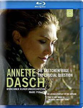 Annette Dasch: 'The Crucial Question'- works by Schubert, Verdi, Schumann, Berlioz & Gounod / A. Dasch, soprano; Munich Radio SO; Piollet [Blu-ray]