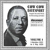 Cow Cow Davenport: Complete Recorded Works, Vol. 1