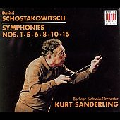 Schostakowitsch: Symphonies / Sanderling, Berlin SO