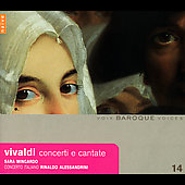 Vivaldi: Concerti e cantate / Alessandrini, et al