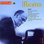 Sviatoslav Richter Edition Vol 1 - Bach / Sanderling, et al