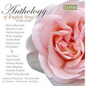 Anthology of English Song 1530-1790 / Burrowes, Luxon, Eathorne, Langridge, et al
