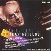 Guillou-Transcriptions-Moussorgski Tableaux d'Une