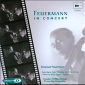 Feuermann in Concert
