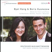 Works by Beethoven, Brahms, Poulenc / Byoi Kang, violin