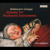Galuppi: Sonatas for Keyboard / Guglielmi, harpsichord