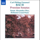 C.P.E. Bach: Prussian Sonatas 1-6, Wq48 / Susan Alexander-Max, piano