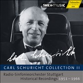 Carl Schuricht Collection Vol. 2 / Stuttgart Radio SO (rec. 1951-66) [10 CDs]