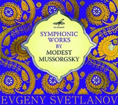 Symphonic Works by Modest Mussorgsky / Svetlanov, USSR State Academic SO