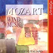 Mozart: Wind Music Vol 2 / Ottetto Italiano