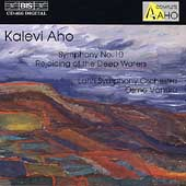 Aho: Symphony no 10, etc / V&#228;nsk&#228;, Lahti Symphony Orchestra