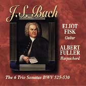 Bach: The 6 Trio Sonatas / Eliot Fisk, Albert Fuller