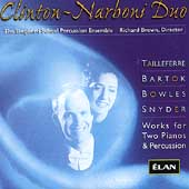 Tailleferre, Bartók, et al: Piano Duets /Clinton-Narboni Duo