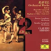 Ravel: Orchestral Works / Abbado, Boston SO, London SO
