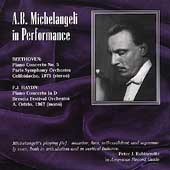 A. B. Michelangeli in Performance - Beethoven, Haydn