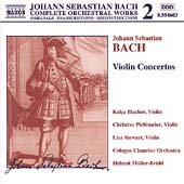 Naxos Bach Edition 2 - Bach: Violin Concertos / M&uuml;ller-Br&uuml;hl