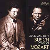 Adolf and Fritz Busch Conduct Mozart