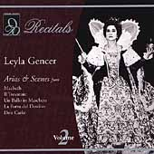 Recitals - Leyla Gencer Vol 2 - Arias & Scenes