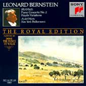 The Royal Edition - Brahms: Piono Concerto no 2 / Bernstein