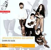 Dusk to Dawn - Ravel: String Quartet;  Janacek: Quartet no 2