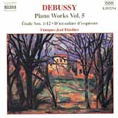 Debussy: Piano Works Vol 5 / François-Joël Thiollier