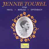 Jennie Tourel sings Ravel, Berlioz, Offenbach