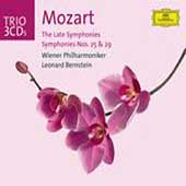 Trio - Mozart: The Late Symphonies, etc / Bernstein, Vienna