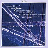 Spohr: Concertantes for 2 Violins / Ulf & Gunhild Hoelscher