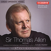 Opera in English - Great Operatic Arias / Sir Thomas Allenl