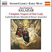 Salazar: Complete Vespers of Our Lady / Cabré, Peñaflorida