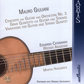 Giuliani: Guitar Concerto no 3, etc / Catemario, et al