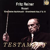 Mozart: Eine Kleine Nachtmusik, etc / Fritz Reiner, et al