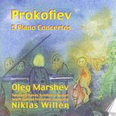 Prokofiev: Piano Concertos no 1-5 / Willen, Marshev, et al