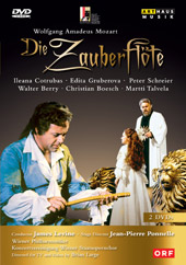 Mozart: The Magic Flute / Levine/Vienna PO, Cotrubas, Gruberova [2 DVD]