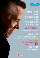 A Portrait of Mariss Jansons & Mahler: Symphony No 2 / Film by Robert Neumuller [2 DVD]
