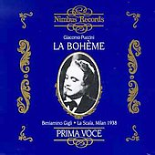 Puccini: La Boheme / Gigli, Albanese, et al