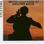 Britten Cello Works Vol 1 / Alexander Baillie